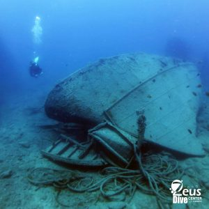 wreck dive, scuba diving in Gran Canaria dive paradise #zeusdivecenter